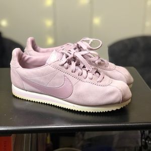 Nike Cortez Lavender/ Purple Sneakers Sz 9